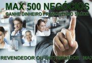 franquia de produtos naturais max 500